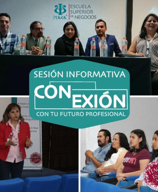 Sesión Informativa Conexión con tu Futuro Profesional