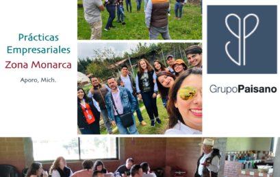 Visita de Campo Prácticas Empresariales Grupo Paisano