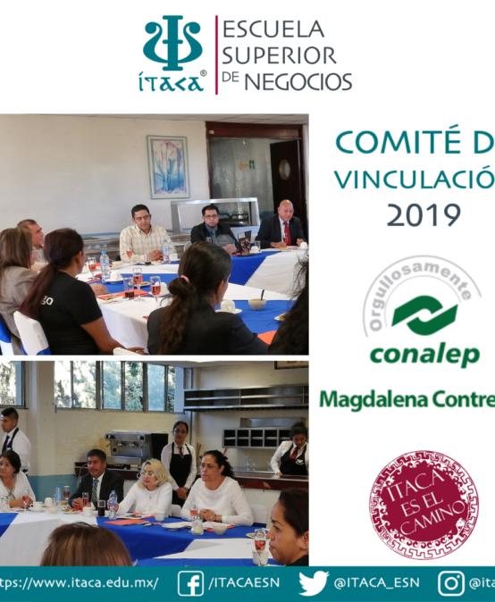 Comité de Vinculación CONALEP Plantel Magdalena Contreras