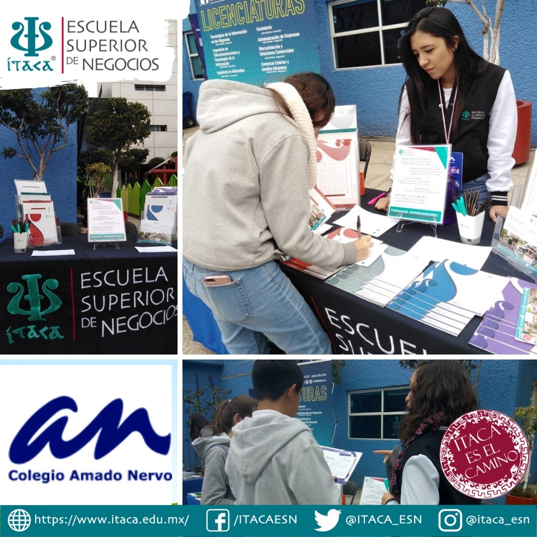 Feria de Universidades del Colegio Amado Nervo