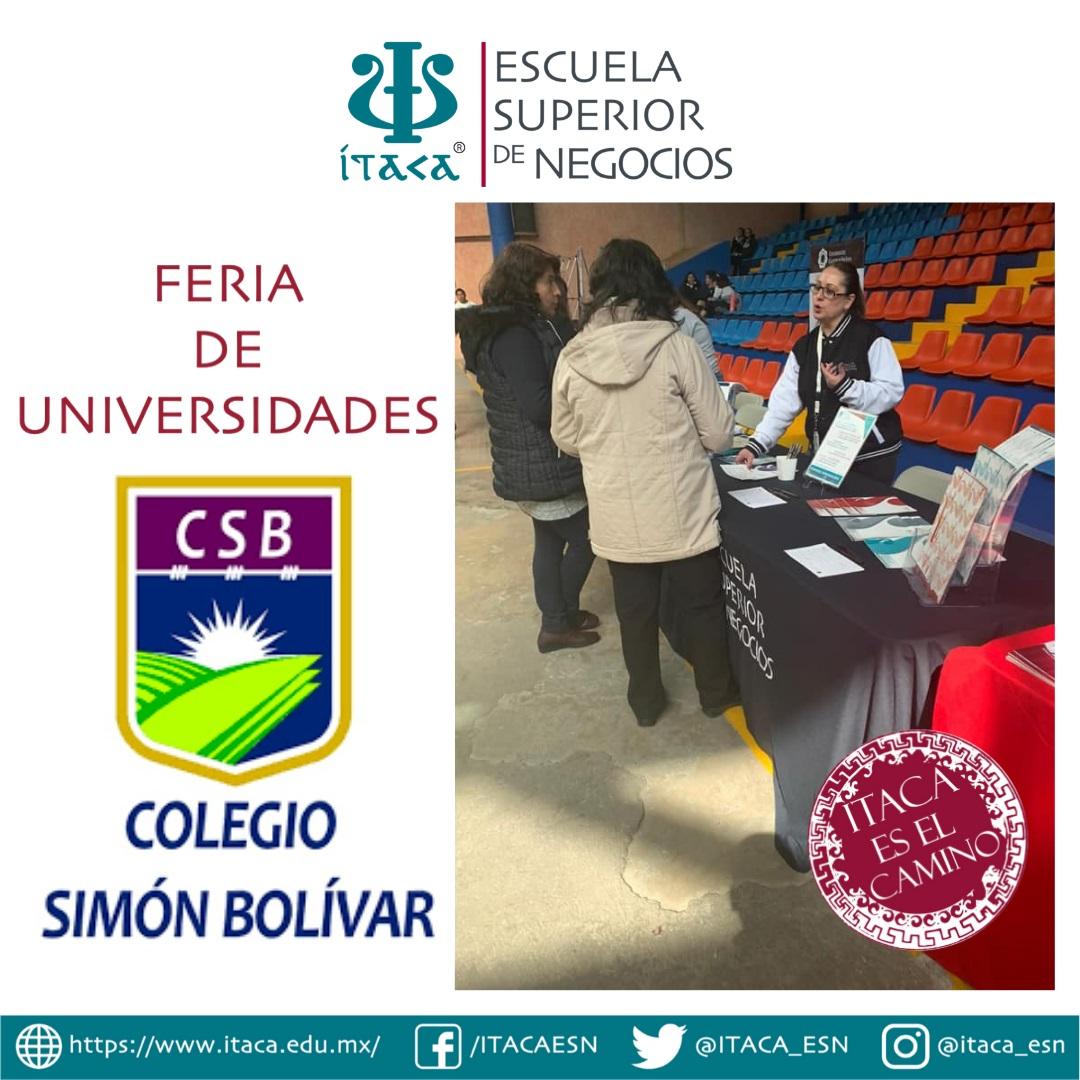Feria de Universidades del Colegio Simón Bolívar del Pedregal
