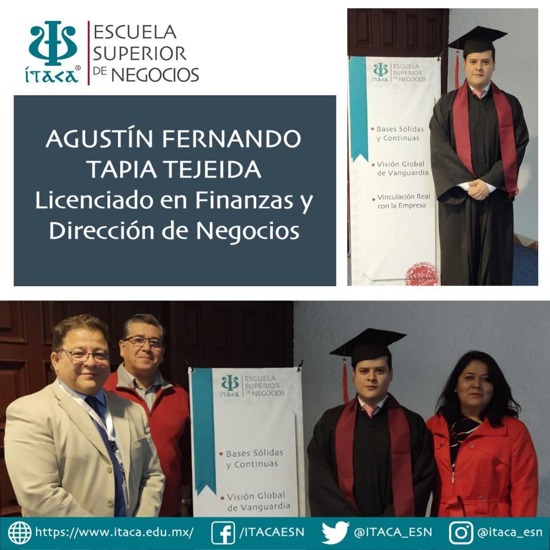 Examen Profesional de Agustín Fernando Tapia Tejeida